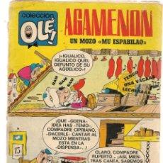 Tebeos: OLÉ!. Nº 13. AGAMENÓN. UN MOZO ¨MU ESPABILAO¨ BRUGUERA, 1ª EDC. 1971. (P/C52). Lote 183816233