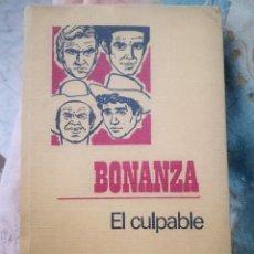 Tebeos: BONANZA.. Lote 183828213