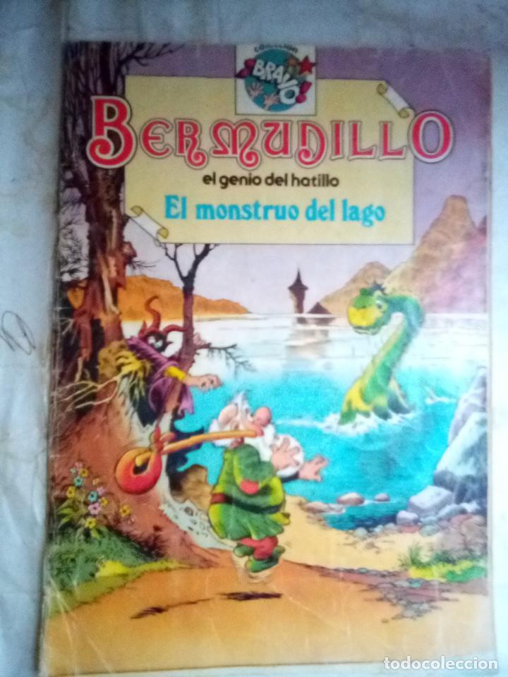 BERMUDILLO- Nº 3- COLECCIÓN BRAVO- EL MONSTRUO DEL LAGO-1982-DIFÍCIL-REGULAR-LEAN-2393 (Tebeos y Comics - Bruguera - Bravo)
