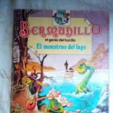 Tebeos: BERMUDILLO- Nº 3- COLECCIÓN BRAVO- EL MONSTRUO DEL LAGO-1982-DIFÍCIL-REGULAR-LEAN-2393. Lote 183856852