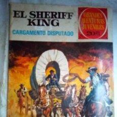 Tebeos: GRANDES AVENTURAS JUVENILES-Nº 8 -SHERIFF KING-CARGAMENTO DISPUTADO-2ª ED.1975-BUENO-DIFÍCIL-LEA3750. Lote 218207130
