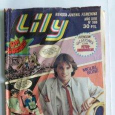 Tebeos: LILY Nº 969. REVISTA JUVENIL FEMENINA. BRUGUERA. 1980.. Lote 183889138