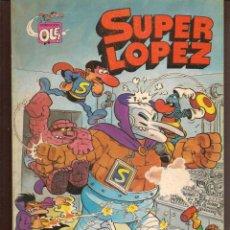 Tebeos: OLÉ!. SUPER LÓPEZ. Nº 3. BRUGUERA, 2ª EDC. 1982 (P/C53). Lote 183891395