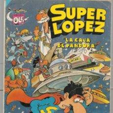 Tebeos: OLÉ!. SUPER LÓPEZ. Nº 8. BRUGUERA, 2ª EDC. 1986 (P/C53). Lote 183891767