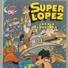 Livros de Banda Desenhada: OLÉ!. SUPER LÓPEZ. Nº 8. BRUGUERA, 2ª EDC. 1986 (P/C53) SUPERLOPEZ. Lote 183891767