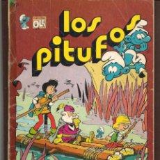 Tebeos: OLÉ!. LOS PITUFOS. Nº 14. EL PAÍS MALDITO. BRUGUERA, 1983. (P/C53). Lote 183893683