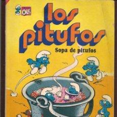Tebeos: OLÉ!. LOS PITUFOS. Nº 10. SOPA DE PITUFOS. BRUGUERA, 1980. (P/C53). Lote 183894096