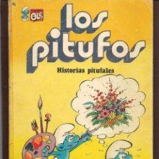 Tebeos: OLÉ!. LOS PITUFOS. Nº 9. HISTORIAS PITUFALES. BRUGUERA, 1ª EDC. 1980. (P/C53). Lote 183894320