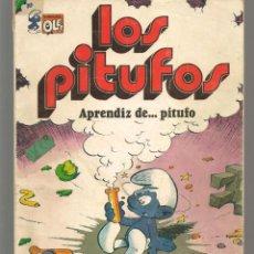 Tebeos: OLÉ!. LOS PITUFOS. Nº 8. APRENDIZ DE PITUFO. BRUGUERA, 3ª EDC. 1983. (P/C53). Lote 183894562
