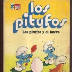Tebeos: OLÉ!. LOS PITUFOS. Nº 5. LOS PITUFOS Y EL HUEVO. BRUGUERA, 1979. (P/C53). Lote 183895375
