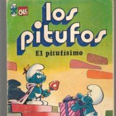 Tebeos: OLÉ!. LOS PITUFOS. Nº 3. EL PITUFISIMO. BRUGUERA, 1979. (P/C53). Lote 183895742