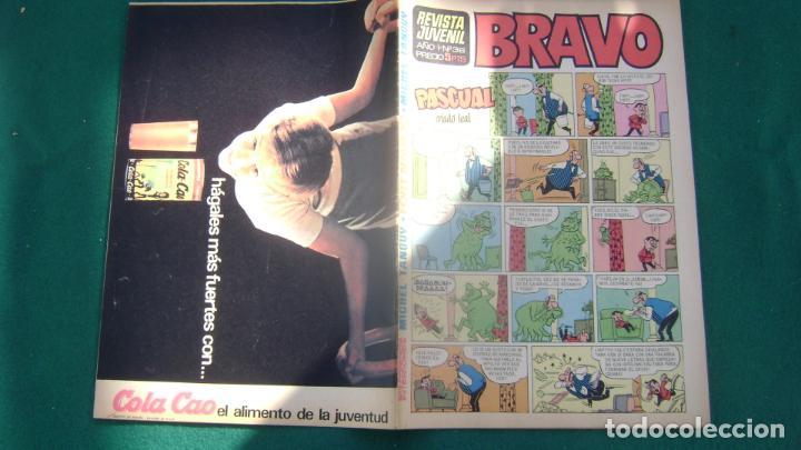 REVISTA BRAVO BRUGUERA EL 36 CJ 5 (Tebeos y Comics - Bruguera - Bravo)