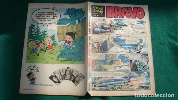 REVISTA BRAVO BRUGUERA EL 34 CJ 5 (Tebeos y Comics - Bruguera - Bravo)