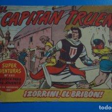 Tebeos: COMIC DE EL CAPITAN TRUENO ZORRINI EL BRIBON AÑO 1964 Nº 880 DE BRUGUERA LOTE 17. Lote 183992282