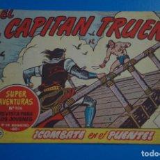 Tebeos: COMIC DE EL CAPITAN TRUENO COMBATE EN EL PUENTE AÑO 1963 Nº 806 DE BRUGUERA LOTE 17. Lote 183993033