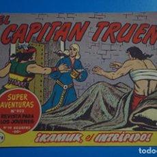 Tebeos: COMIC DE EL CAPITAN TRUENO KAMUK EL INTREPIDO AÑO 1963 Nº 802 DE BRUGUERA LOTE 17. Lote 183993095