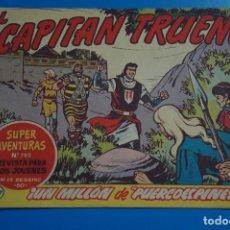 Tebeos: COMIC DE EL CAPITAN TRUENO UN MILLON DE PUERCOESPINES AÑO 1963 Nº 780 DE BRUGUERA LOTE 17. Lote 183993378