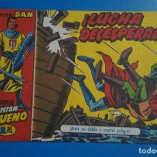 Tebeos: COMIC DE EL CAPITAN TRUENO LUCHA DESESPERADA REEDICION AÑO 1958 Nº 52 DE BRUGUERA LOTE 10 D. Lote 183994067