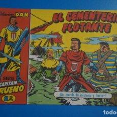 Tebeos: COMIC DE EL CAPITAN TRUENO EL CEMENTERIO FLOTANTE REEDICION AÑO 1958 Nº 50 DE BRUGUERA LOTE 10 D. Lote 183994195