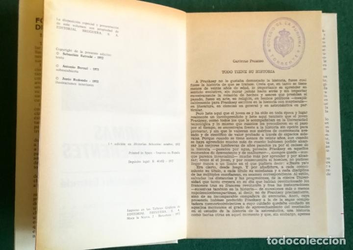 Tebeos: HISTORIAS SELECCIÓN - SERIE CIENCIA FICCIÓN 2 (5) - UNA CIUDAD EN EL INFIERNO EL VIAJERO DEL TIEMPO - Foto 10 - 184022391
