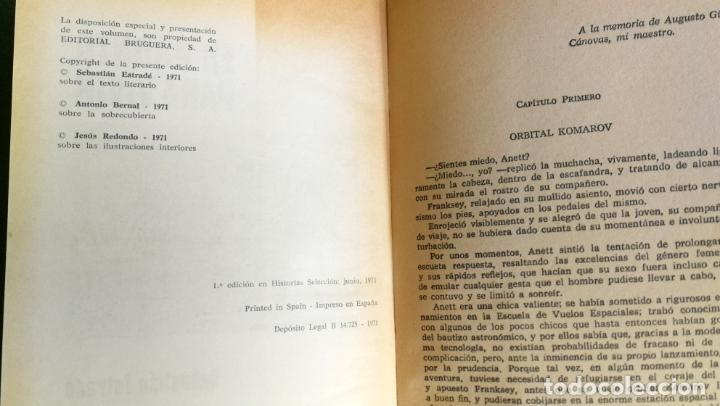 Tebeos: HISTORIAS SELECCIÓN - SERIE CIENCIA FICCIÓN 3 (5) - GENESTEL ES PRONTO PARA VIVIR FORMAS DIFERENTES - Foto 7 - 184024307