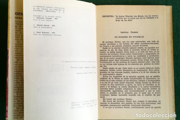 Tebeos: HISTORIAS SELECCIÓN - SERIE CIENCIA FICCIÓN 3 (5) - GENESTEL ES PRONTO PARA VIVIR FORMAS DIFERENTES - Foto 8 - 184024307
