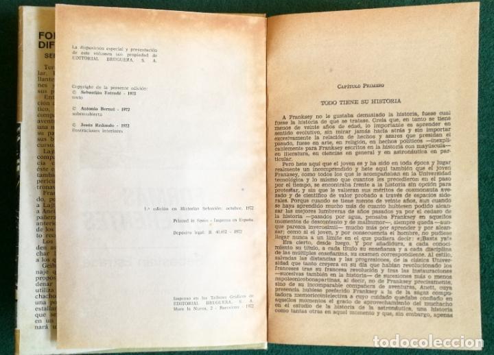 Tebeos: HISTORIAS SELECCIÓN - SERIE CIENCIA FICCIÓN 3 (5) - GENESTEL ES PRONTO PARA VIVIR FORMAS DIFERENTES - Foto 11 - 184024307