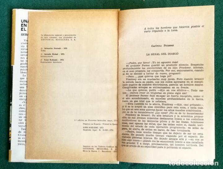 Tebeos: HISTORIAS SELECCIÓN - SERIE CIENCIA FICCIÓN 3 (5) - GENESTEL ES PRONTO PARA VIVIR FORMAS DIFERENTES - Foto 12 - 184024307