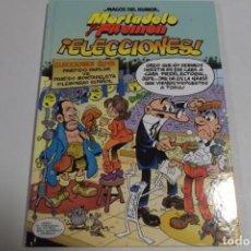 Tebeos: MAGOS DEL HUMOR - MORTADELO Y FILEMON - ¡ELECCIONES!. Lote 184048387