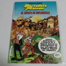 Tebeos: MAGOS DEL HUMOR - MORTADELO Y FILEMON - EL ATASCO DE INFLUENCIA. Lote 184048505