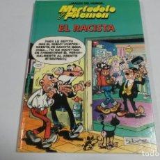 Tebeos: MAGOS DEL HUMOR - MORTADELO Y FILEMON - EL RACISTA. Lote 184048732