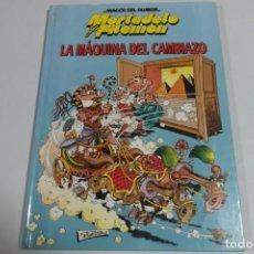 Tebeos: MAGOS DEL HUMOR - MORTADELO Y FILEMON - LA MAQUINA DEL CAMBIAZO. Lote 184048800