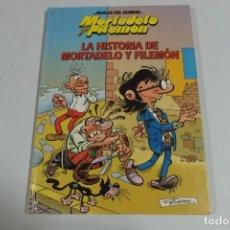 Tebeos: MAGOS DEL HUMOR - MORTADELO Y FILEMON - LA HISTORIA DE MORTADELO Y FILEMON. Lote 184048847