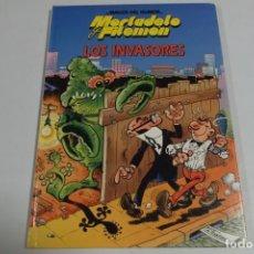 Tebeos: MAGOS DEL HUMOR - MORTADELO Y FILEMON - LOS INVASORES. Lote 184048892