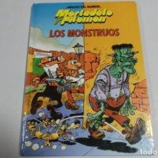 Tebeos: MAGOS DEL HUMOR - MORTADELO Y FILEMON - LOS MONSTRUOS. Lote 184048985