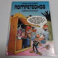 Tebeos: MAGOS DEL HUMOR - ROMPETECHOS - COMBINADO DE RISAS. Lote 184049037