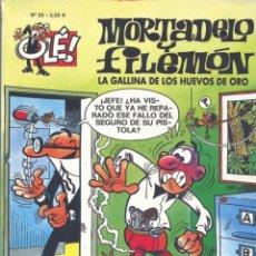Tebeos: MORTADELO Y FILEMÓN. LA GALLINA DE LOS HUEVOS DE ORO. OLÉ Nº26. EDICIONES B, 2006. Lote 184051886