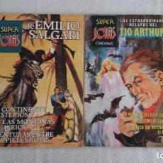 Tebeos: SUPER JOYAS DE EMILIO SALGARI Y RELATOS TIO ARTHUR. Lote 184101453