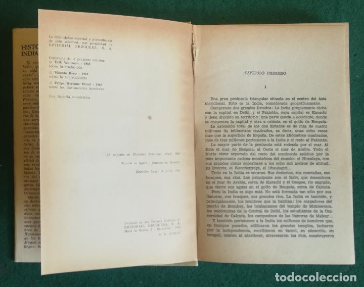 Tebeos: HISTORIAS SELECCIÓN - HISTORIA DE LA INDIA 1/68 - SERIE PUEBLOS Y PAISES 1 - MUY BUENO - Foto 2 - 184107255