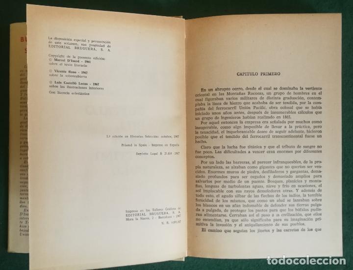 Tebeos: HISTORIAS SELECCIÓN - BUFFALO BILL CONTRA SITTING BULL 1/67 - SERIE GRANDES AVENTURAS 6 - MUY BUENO - Foto 2 - 184109005