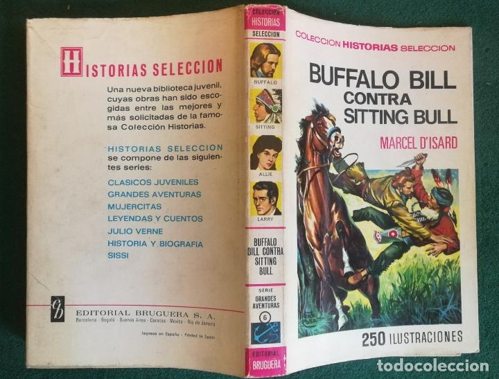 HISTORIAS SELECCIÓN - BUFFALO BILL CONTRA SITTING BULL 1/67 - SERIE GRANDES AVENTURAS 6 - MUY BUENO (Tebeos y Comics - Bruguera - Historias Selección)