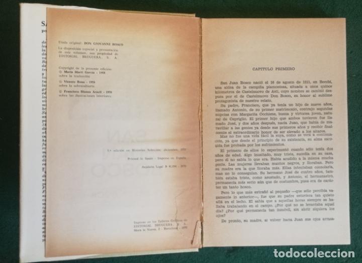 Tebeos: HISTORIAS SELECCIÓN - SAN JUAN BOSCO 1/70 - SERIE HISTORIA Y BIOGRAFIA 10 - BUENO - Foto 2 - 184117402