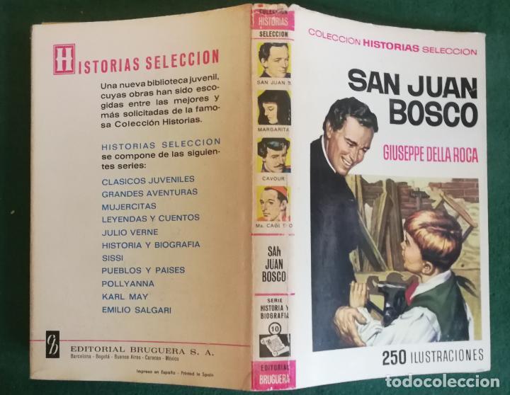 HISTORIAS SELECCIÓN - SAN JUAN BOSCO 1/70 - SERIE HISTORIA Y BIOGRAFIA 10 - BUENO (Tebeos y Comics - Bruguera - Historias Selección)