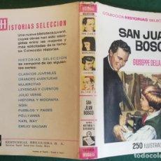 BDs: HISTORIAS SELECCIÓN - SAN JUAN BOSCO 1/70 - SERIE HISTORIA Y BIOGRAFIA 10 - BUENO. Lote 184117402