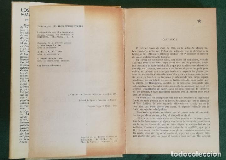 Tebeos: HISTORIAS SELECCIÓN - LOS TRES MOSQUETEROS 2/70 - SERIE CLASICOS JUVENILES 6 - BUEN ESTADO - Foto 2 - 184143543