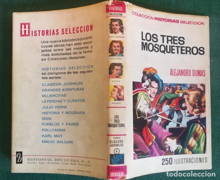 HISTORIAS SELECCIÓN - LOS TRES MOSQUETEROS 2/70 - SERIE CLASICOS JUVENILES 6 - BUEN ESTADO (Tebeos y Comics - Bruguera - Historias Selección)
