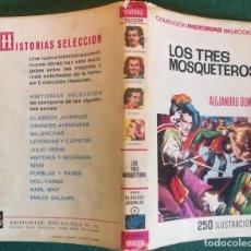 Tebeos: HISTORIAS SELECCIÓN - LOS TRES MOSQUETEROS 2/70 - SERIE CLASICOS JUVENILES 6 - BUEN ESTADO. Lote 184143543