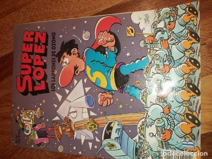 SUPER LOPEZ N° 22 LOS LADRONES DE OZONO. SUPERLOPEZ (Tebeos y Comics - Bruguera - Ole)