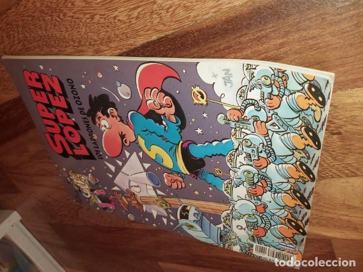 Tebeos: Super lopez n° 22 Los ladrones de Ozono. Superlopez - Foto 2 - 184143947