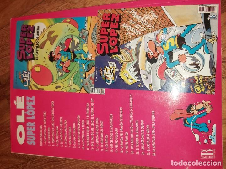 Tebeos: Super lopez n° 22 Los ladrones de Ozono. Superlopez - Foto 3 - 184143947
